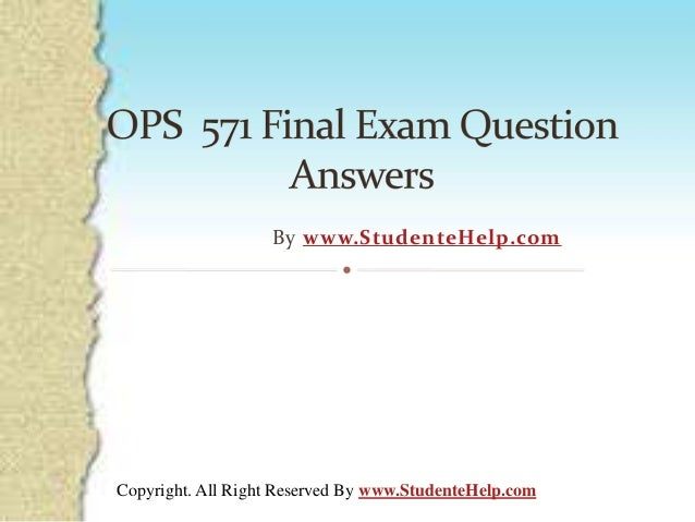 ops 571 complete course tutorials Ops 571 week 1 individual assignment process design matrix and summary new for more course tutorials visit wwwuopops571com complete the process design.
