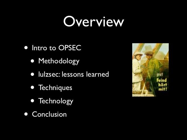 OPSEC for hackers Slide 3