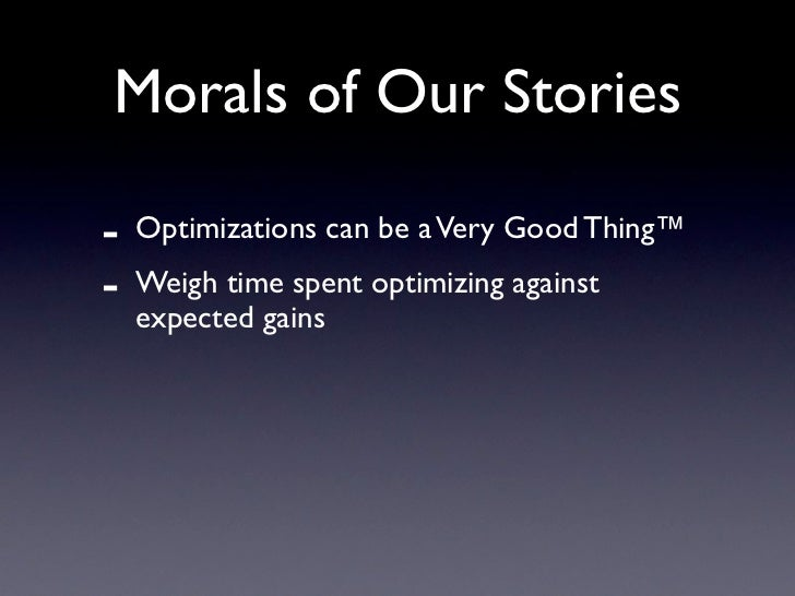 Some Wisdom Nuggets        Jon Prall's 85 WebOps Rules:   http://jprall.vox.com/library/post/85-     operations-rules-to-l...