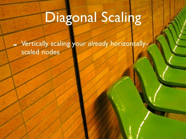 Diagonal Scaling -   Vertically scaling your already horizontally-     scaled nodes