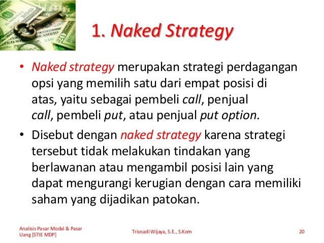 Menempatkan strategi perdagangan opsi
