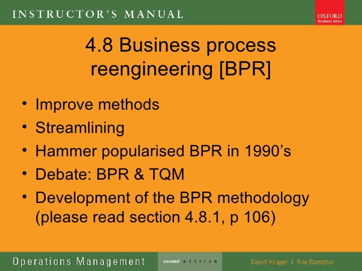 The Literature Regarding Bpr Business Essay