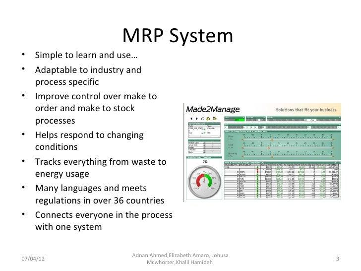 Riordan Manufacturing: Information System Proposal