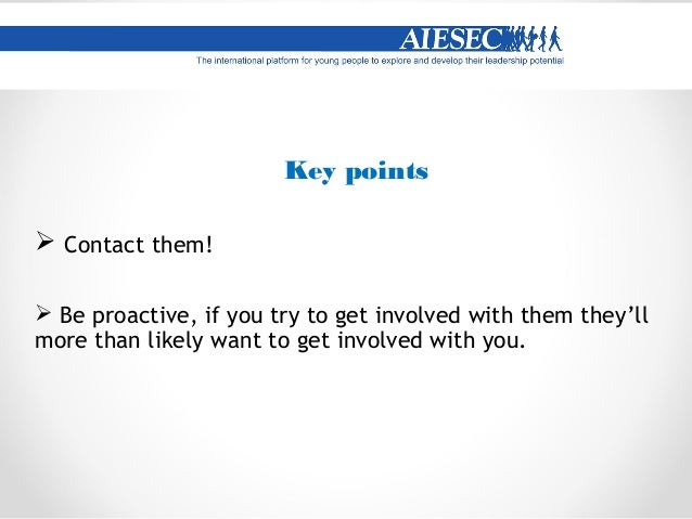 Key points  Speak to both your TN manager in the host country and also to your employer!  Do some volunteer work, join A...