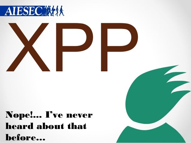 XPP stands for P P Xchang e rogra m olici es