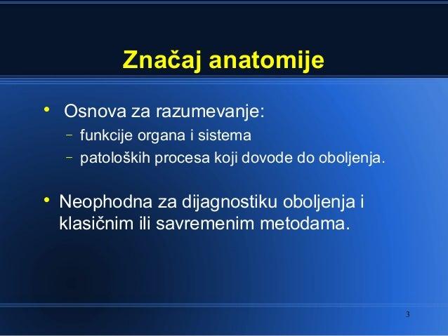 Opsta anatomija uvod Slide 3