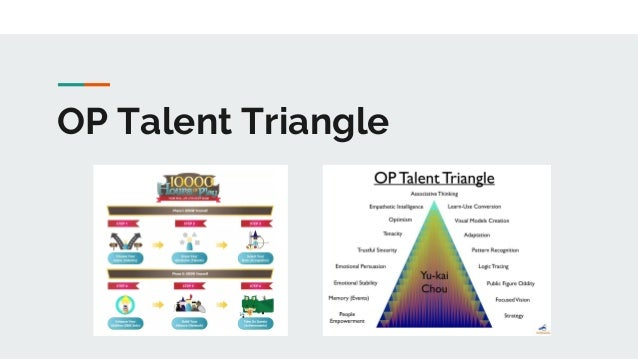 OP Talent Triangle