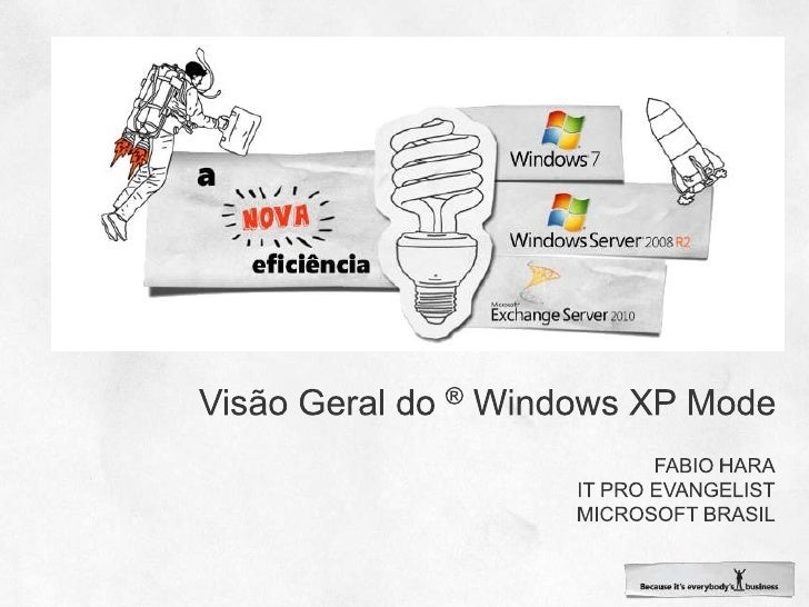 Visão Geral do ®Windows XP Mode<br />Fabio hara<br />It pro evangelist<br />Microsoft brasil<br />