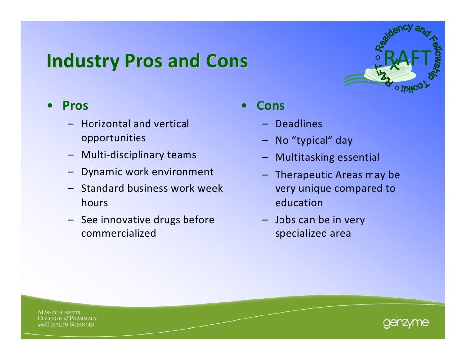 pros and cons on industrialisation