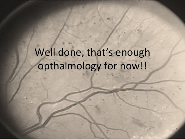 opthalmology quiz