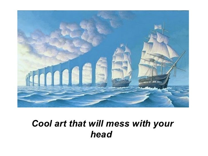 Cool art that will mess with your head