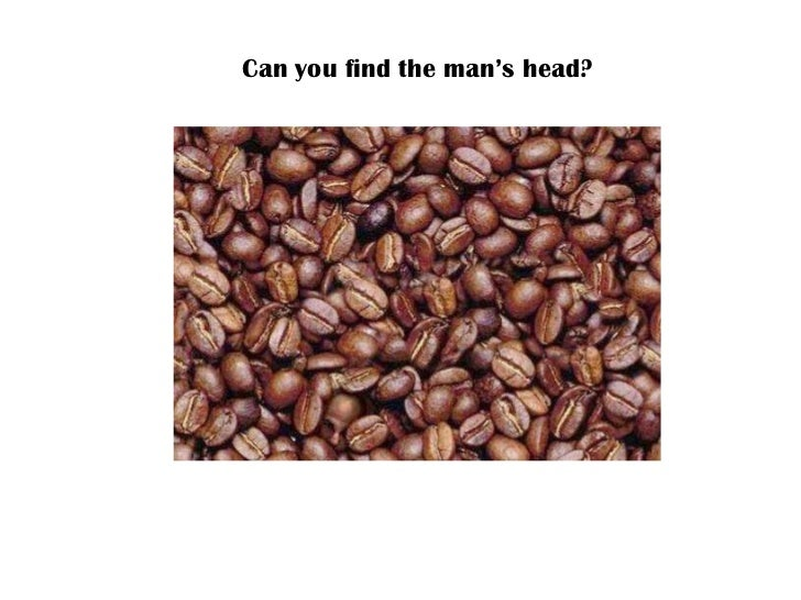Can you find the man's head?
