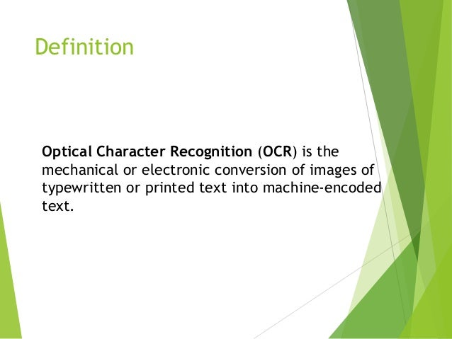 real time optical character recognition Proceedings of the 2008 iajc-ijme international conference isbn 978-1-60643-379-9 paper 228, ent 20 1 a real-time dsp-based optical character recognition system for isolated.