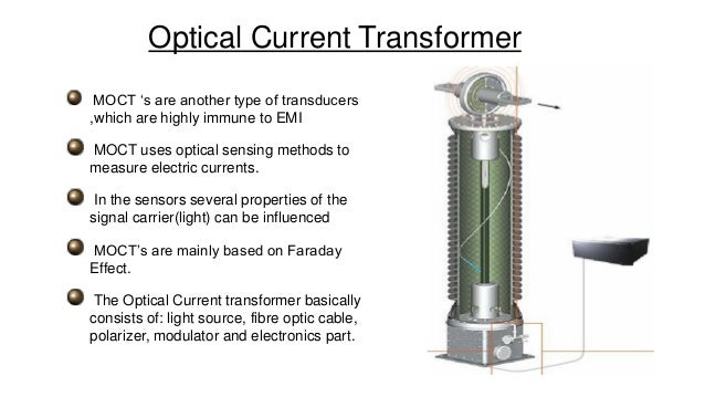 optical current transformer  oct