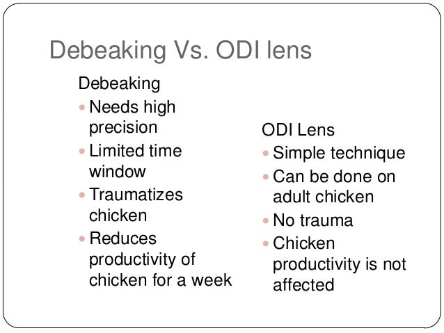odi optical distortion Optical distortion, inc (odi) is a small company with limited resources but a very innovative product -- contact lenses for chicken the company needs to evaluate the.