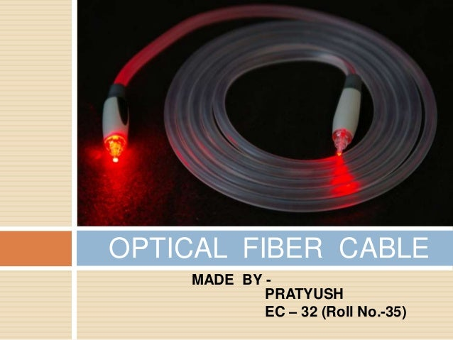 Optical fiber cable final