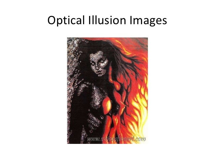 Optical illusion images