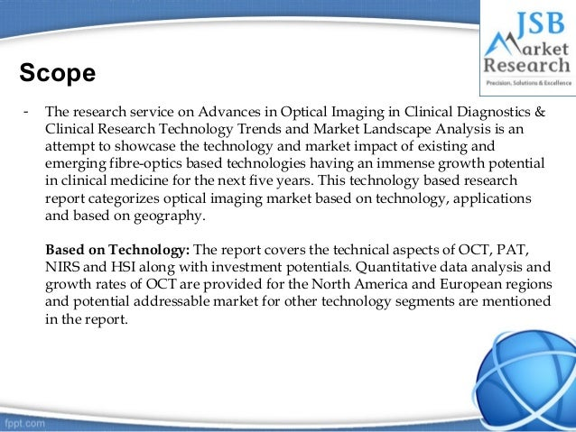 JSB Market Research - Optical Imaging Market Technology ...