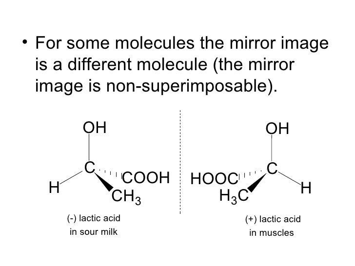 Optical isomers