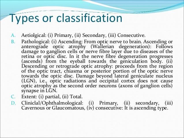 optic atrophy  b