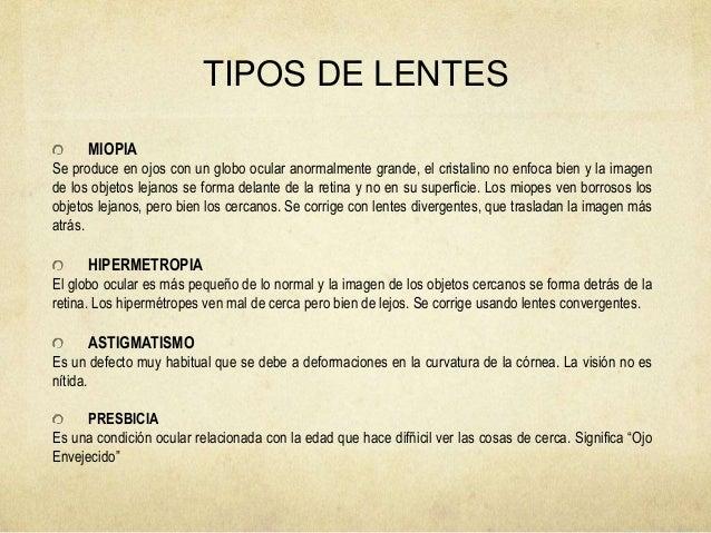 a39c1aa115 TIPOS DE LENTES MIOPIA Se ...