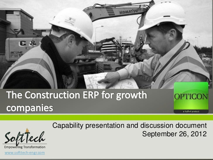 Capability presentation and discussion document                                                     September 26, 2012www....