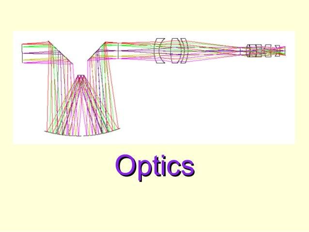 OpticsOptics