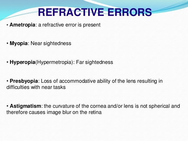 Netra: interactive display for estimating refractive errors ppt.