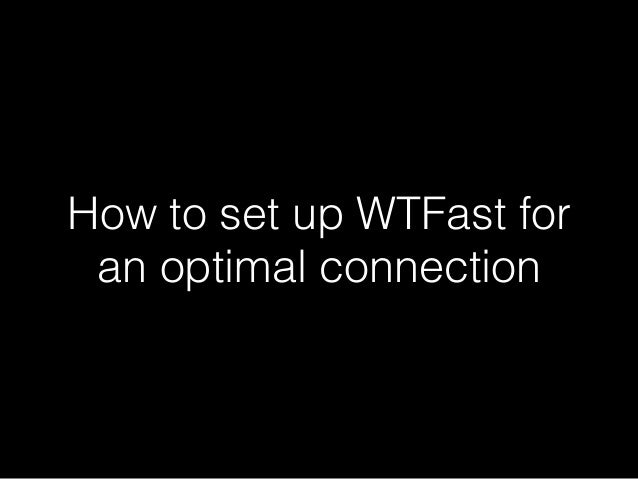 Optimal connection