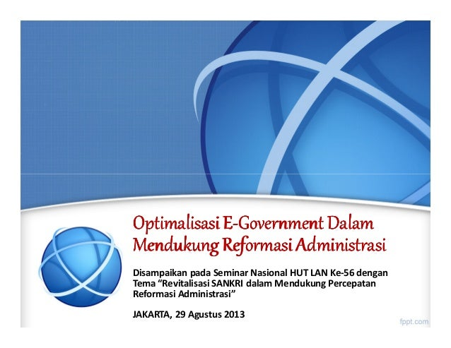OptimalisasiOptimalisasiOptimalisasiOptimalisasi EEEE----GovernmentGovernmentGovernmentGovernment DalamDalamDalamDalam Men...