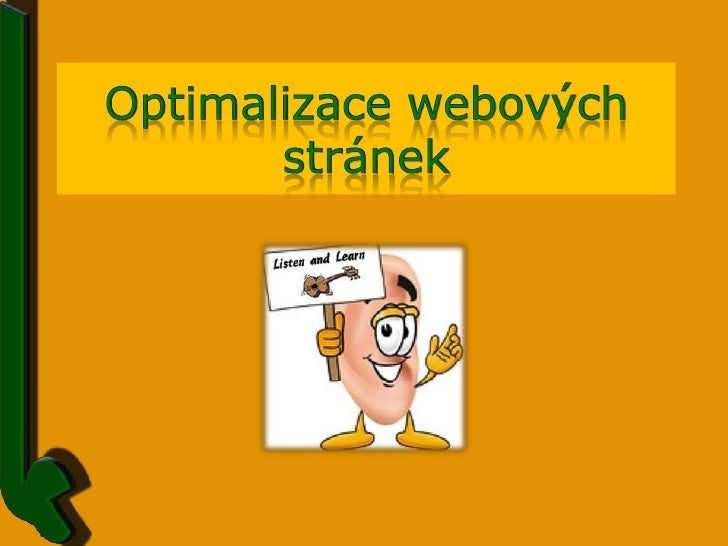 Optimalizace webových stránek<br />