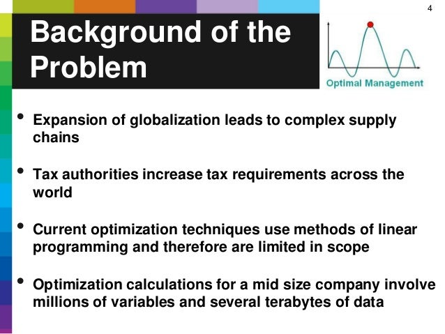 4 • Expansion of globalization leads to complex supply chains • Tax authorities increase tax requirements across the world...