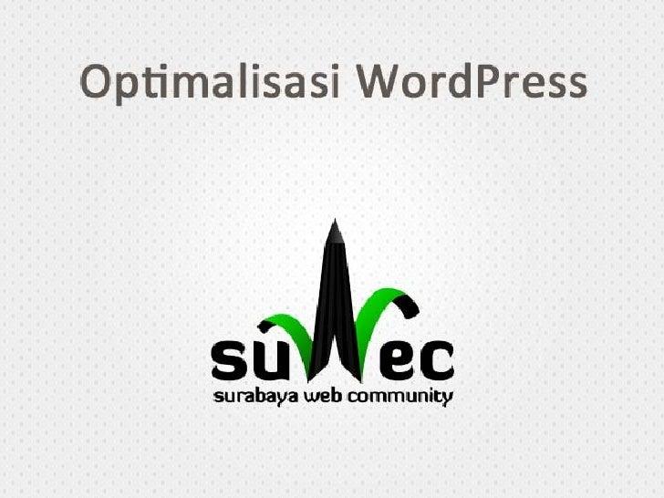 Optimasi WordPress - Suwec.pdf