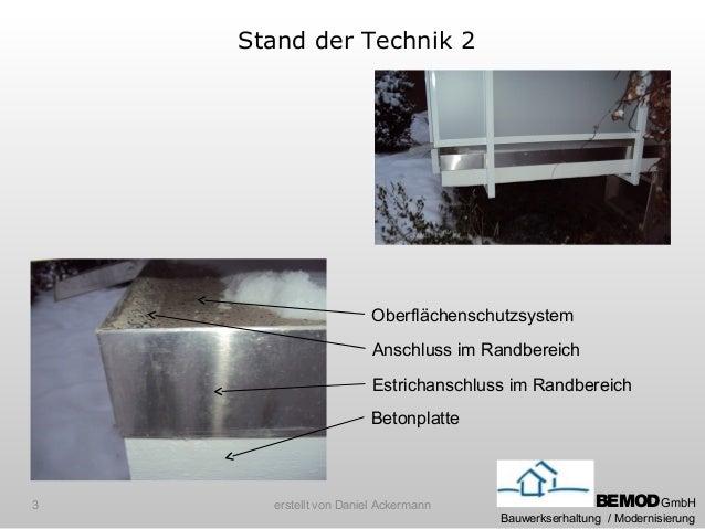 Optimierung balkonkante Slide 3