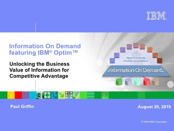 Optim Insync10 Paul Griffin presentation