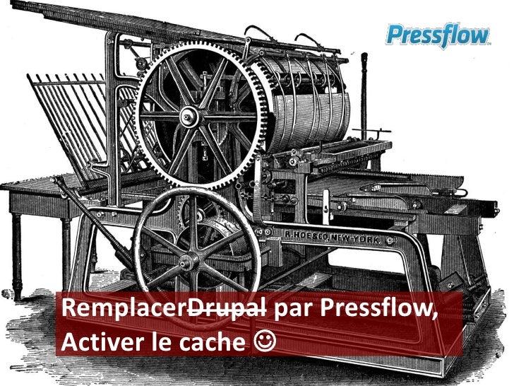 RemplacerDrupal par Pressflow,Activer le cache <br />