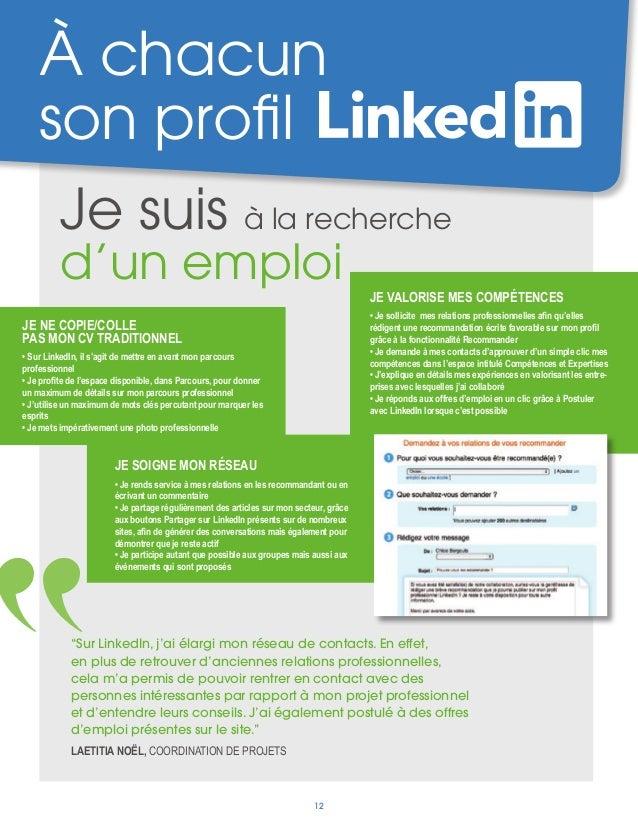 optimiser son profil linkedin juillet 2013