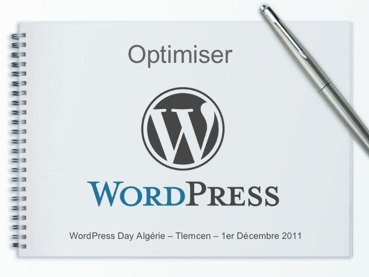 OptimiserWordPress Day Algérie – Tlemcen – 1er Décembre 2011