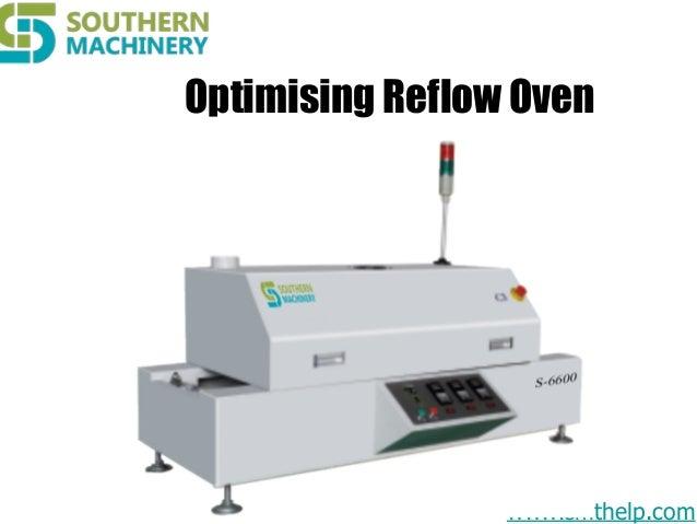 Optimising reflow oven for SMT