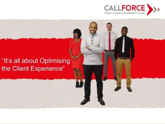 """Innovative People Solutions CHT Presentation """"It's all about Optimising the Client Experience"""""""