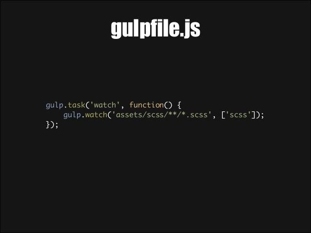 Gulp plugins