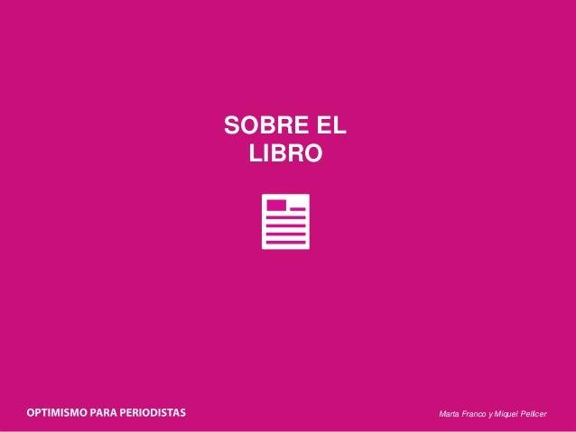Marta Franco y Miquel Pellicer SOBRE EL LIBRO