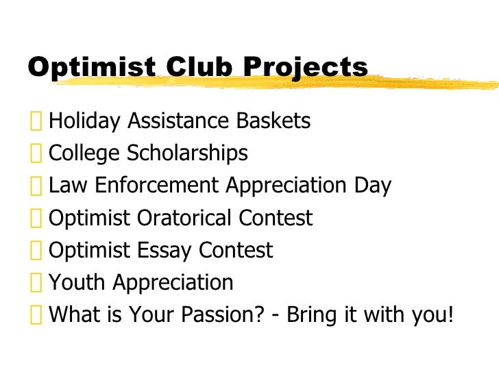 optimist essay contest form Rules and complete the entry form the rules contain information about the contest  optimist essay contest scholarship will be eligible to compete at any level.