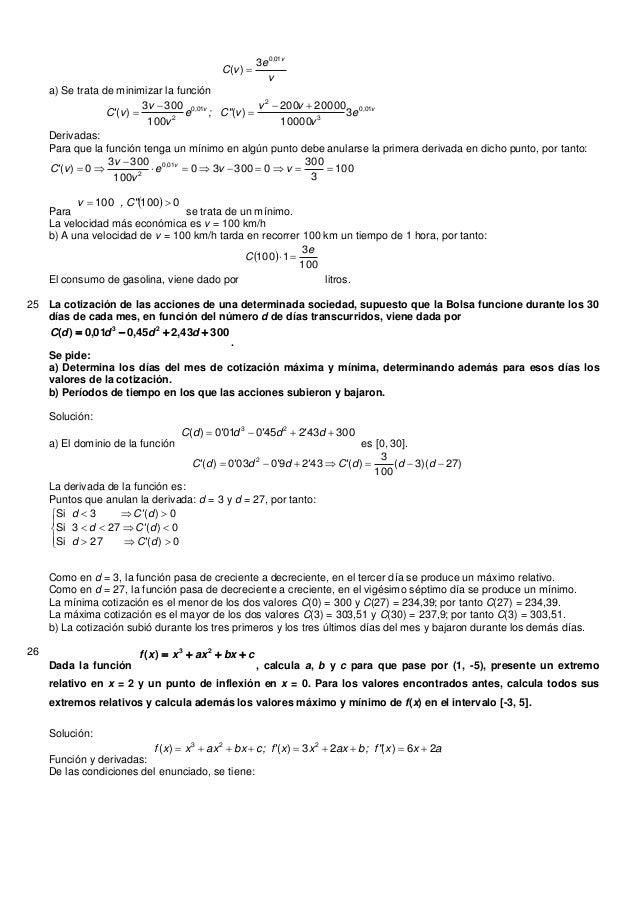 "a) Se trata de minimizar la funciónvevCv,0103)( Derivadas:v,v,evvvv; C""evvvC 01032010231000020000200)(1003003)(Para ..."
