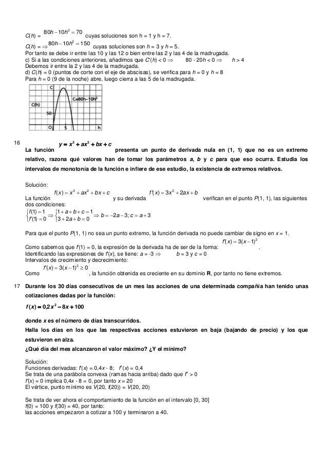 C(h) =701080 2 hhcuyas soluciones son h = 1 y h = 7.C(h) = 1501080 2 hhcuyas soluciones son h = 3 y h = 5.Por tanto s...
