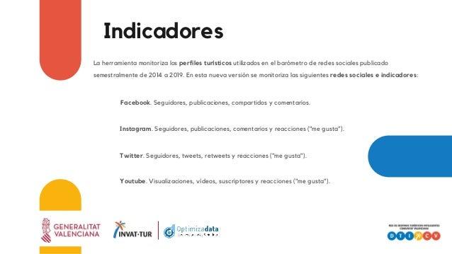 La herramienta monitoriza los perfiles turísticos utilizados en el barómetro de redes sociales publicado semestralmente de...