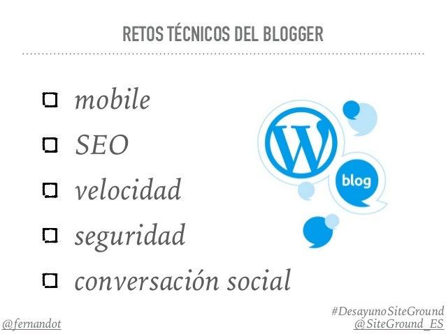 Consejos de optimización de websites WordPresss para bloggers - 웹