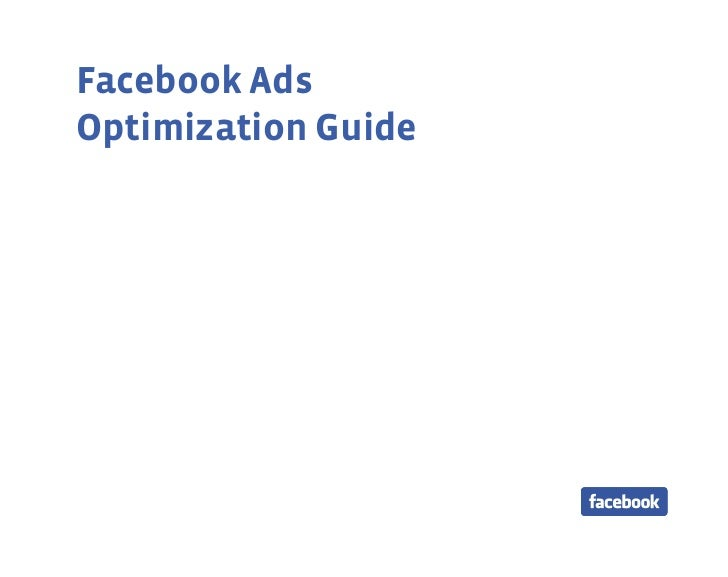 Facebook AdsOptimization Guide