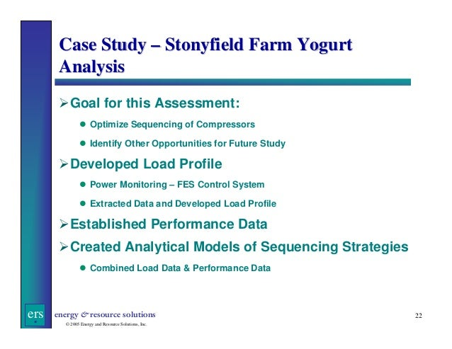 stonyfield case study Get this from a library stonyfield farm case study: maintaining growth in the troubled organic food sector.