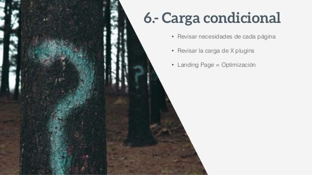 • Especificar cache de navegador • Habilita compresión GZIP • Ahorra ancho de banda • Usar con mucho cuidado en contenid...